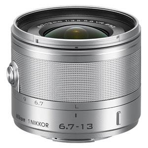 1NVR6.7-13SL ニコン 1 NIKKOR VR 6.7-13mm f/3.5-5.6(シルバー) ※ニコン1マウント用レンズ