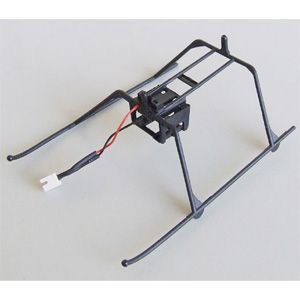 ランディング・スキッド・セット(ブラック)【JH4005010A】  川田模型