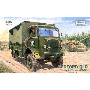 1/35 英・ベッドフォードQLD3トン4輪駆動カーゴトラック【PB35015】 IBG