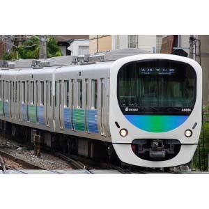[鉄道模型]グリーンマックス (Nゲージ) 4377 西武30000系新宿線 8両編成セット(動力付き)