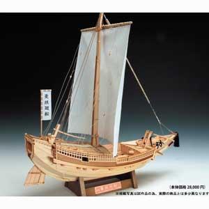 1/72 木製模型 菱垣廻船 ウッディジョー