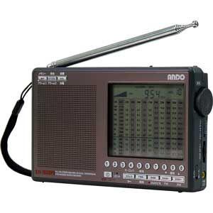 【各種クーポンあり。数上限ございます】S11-783DPU アンドー ワイドFMシンセサイザーラジオ ando