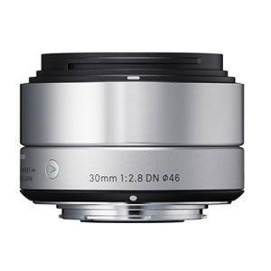 30/2.8DN_SIL_MFT シグマ 30mm F2.8 DN(シルバー) ※マイクロフォーサーズ用レンズ(ミラーレス一眼用)