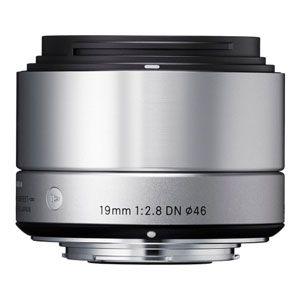 19/2.8DN SIL MFT シグマ 19mm F2.8 DN(シルバー)※マイクロフォーサーズ用 ※DNレンズ(ミラーレス一眼用)