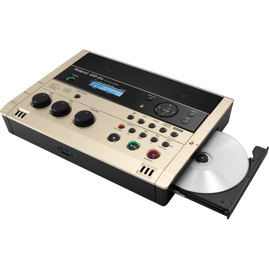 CD-2U ローランド SD/CDレコーダー外部SDカードスロット搭載 Roland