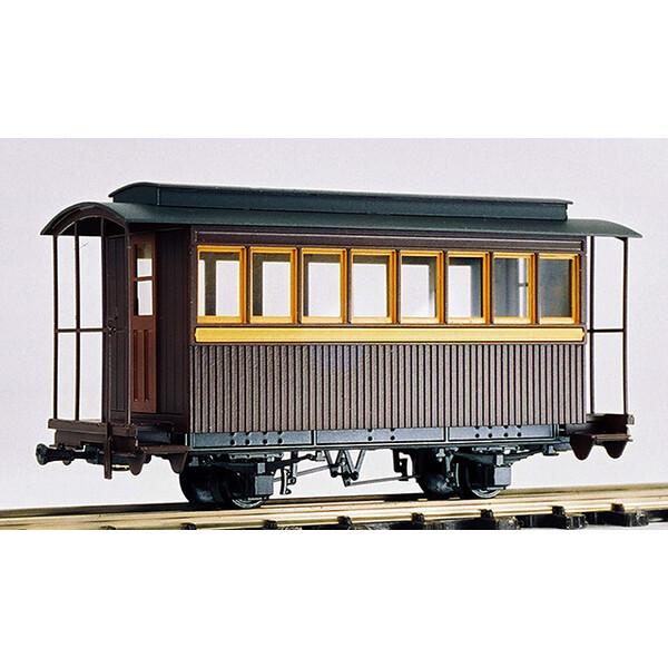 [鉄道模型]ワールド工芸 【再生産】(HOナロー) 頸城鉄道 ハ5 客車 未塗装組立キット リニューアル品