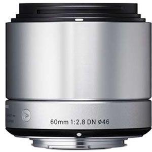 60/2.8_DN_SIL_F/MFT シグマ 60mm F2.8 DN(シルバー)※マイクロフォーサーズマウント ※DNレンズ(ミラーレス一眼用)