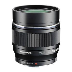 ED75MMF1.8BLK オリンパス M.ZUIKO DIGITAL ED 75mm F1.8(ブラック) ※マイクロフォーサーズ用レンズ