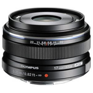 17MMF1.8BLK オリンパス M.ZUIKO DIGITAL 17mm F1.8(ブラック) ※マイクロフォーサーズ用レンズ