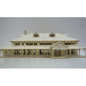 [鉄道模型]フローベルデ (N) 351 旧国鉄 室蘭駅(ペーパー製塗装済組立キット)