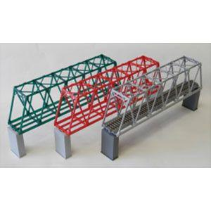 [鉄道模型]コスミック (HO) HB-369MK 単線トラス鉄橋組立キット(L緑)