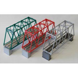 [鉄道模型]コスミック (HO) HB-246MK 単線トラス鉄橋組立キット(S緑)