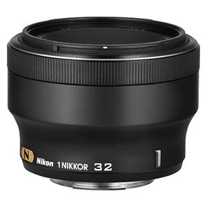 1N32F1.2-BK ニコン 1 NIKKOR 32mm f/1.2(ブラック) ※ニコン1マウント用レンズ