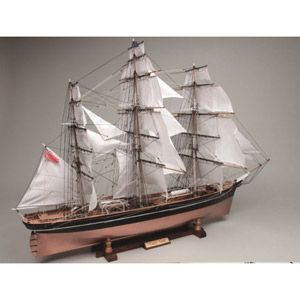 1/80 木製帆船模型 カティーサーク(帆付き) ウッディジョー