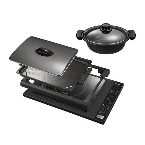 KZ-HP2100-K パナソニック 卓上IH調理器 ホットプレート ブラック Panasonic IHホットプレート