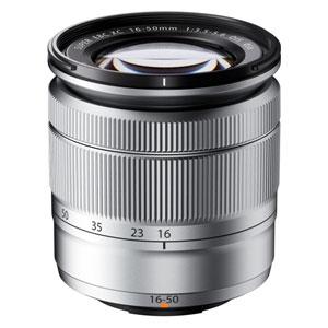 XC16-50MMF3.5-5.6 OIS S 富士フイルム フジノンXCレンズ XC16-50mm F3.5-5.6 OIS(シルバー) ※富士フイルムXマウント用レンズ