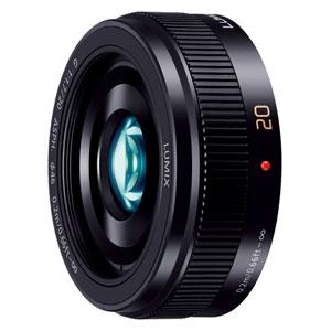 H-H020A-K パナソニック LUMIX G 20mm / F1.7 II ASPH.(ブラック) ※マイクロフォーサーズ用レンズ