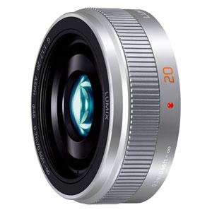 H-H020A-S パナソニック LUMIX G 20mm / F1.7 II ASPH.(シルバー) ※マイクロフォーサーズ用レンズ