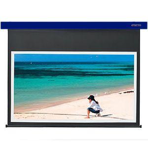 【各種クーポンあり。数上限ございます】SES-80HDWA/B キクチ 電動スクリーン・Stylist-ES80インチ(16:9)ホワイトマットアドバンスコバルトブルー KIKUCHI