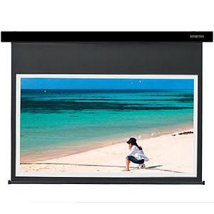 【各種クーポンあり。数上限ございます】SES-80HDWA/K キクチ 電動スクリーン・Stylist-ES80インチ(16:9)ホワイトマットアドバンスミッドナイトブラック KIKUCHI