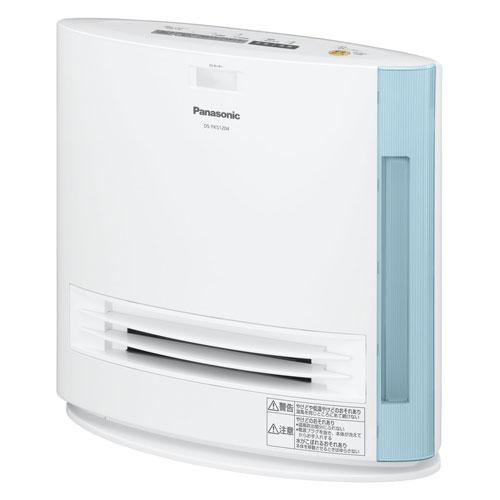 DS-FKS1204-A パナソニック 加湿機能付きひとセンサー搭載セラミックファンヒーター(ブルー) 【暖房器具】Panasonic