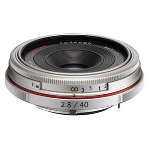 HD-DA40/2.8リミテツドSL ペンタックス HD PENTAX-DA 40mmF2.8 Limited(シルバー) ※DAレンズ(デジタル専用)