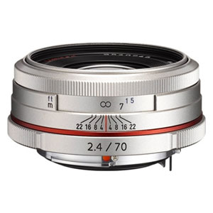 HD-DA70/2.4リミテツドSL ペンタックス HD PENTAX-DA 70mmF2.4 Limited(シルバー) ※DAレンズ(デジタル専用)
