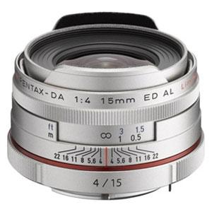 HD-DA15/4リミテツドSL ペンタックス HD PENTAX-DA 15mmF4ED AL Limited(シルバー) ※DAレンズ(デジタル専用)