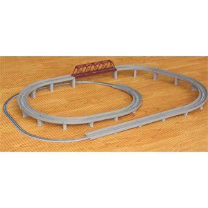 [鉄道模型]六半 (Z) R063 レールセットD 単線立体交差セット