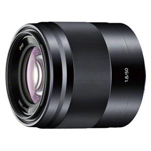 SEL50F18-B ソニー E 50mm F1.8 OSS ※Eマウント用レンズ(APS-Cサイズミラーレス用)
