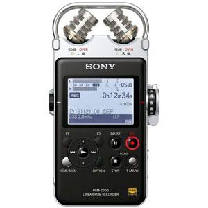 PCM-D100 ソニー リニアPCMレコーダー32GBメモリー内蔵+外部SDカードスロット搭載 SONY