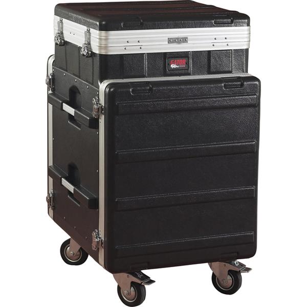 GRC-10X12PU ゲーター ポップアップコンソールラック(10U+12U キャスター付) GATOR