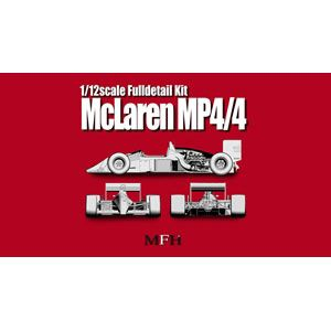 1/12 マクラーレン MP4/4 Ver.A(1988 San Marino GP/ Mexico GP Canada GP France GP)【K391】 モデルファクトリーヒロ
