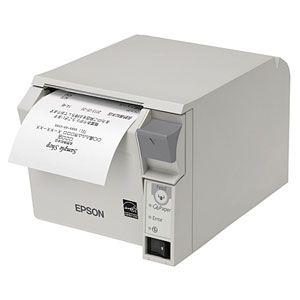 TM702US201 エプソン レシートプリンター(クールホワイト) TM-T70IIシリーズ RS-232(シリアル) 80mm幅ロール紙