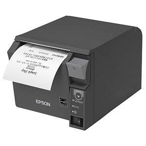 TM702UE222 エプソン レシートプリンター(ダークグレイ) TM-T70IIシリーズ 有線LAN(100BASE-TX/10BASE-T) 80mm幅ロール紙