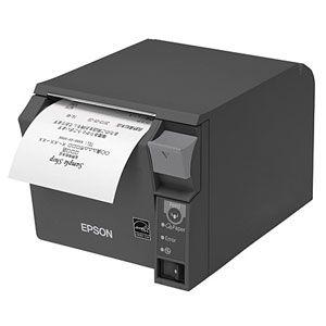TM702UW552 エプソン レシートプリンター(ダークグレイ) TM-T70IIシリーズ 無線LAN(IEEE802.11 a/b/g/n) 58mm幅ロール紙