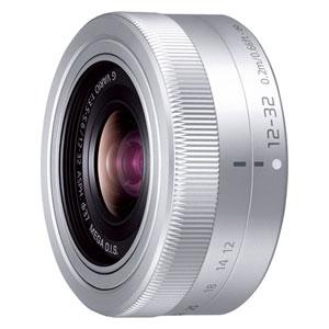 H-FS12032-S パナソニック LUMIX G VARIO 12-32mm/F3.5-5.6 ASPH./MEGA O.I.S.(シルバー) ※マイクロフォーサーズ用レンズ