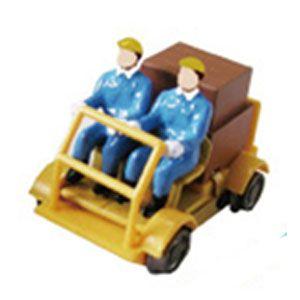 [鉄道模型]津川洋行 (HO) 18001 軌道バイク(動力付) 車体色:黄色