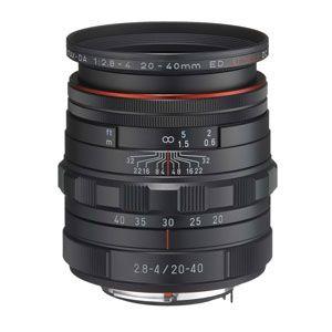 HDDA20-40MMF2.8-4-BK ペンタックス HD PENTAX-DA 20-40mmF2.8-4ED Limited DC WR(ブラック) ※DAレンズ(デジタル専用)