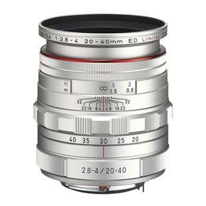 HDDA20-40MMF2.8-4-SL ペンタックス HD PENTAX-DA 20-40mmF2.8-4ED Limited DC WR(シルバー) ※DAレンズ(デジタル専用)