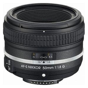 AFS50/1.8GSE ニコン AF-S NIKKOR 50mm f/1.8G (Special Edition) ※FXフォーマット用レンズ