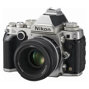 DFLK-SL ニコン デジタル一眼レフカメラ「Df」レンズキット(シルバー)