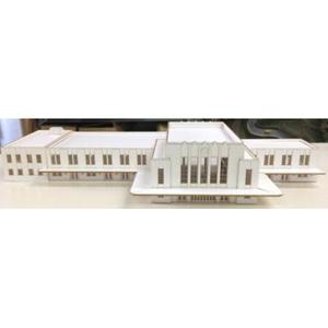 [鉄道模型]フローベルデ (N) 359 昭和駅舎シリーズ 旧国鉄 横浜駅 (ペーパー製塗装済組立キット)