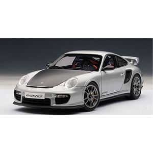 1/18 ポルシェ 911 (997) GT2 RS (シルバー)【77961】 オートアート