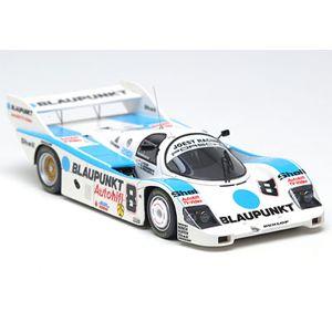 """1/43 ポルシェ 956B""""Joest Racing-Blaupunkt""""No.8 WEC ブランズハッチ1000km 1984 2位【CM002】 メイクアップ"""