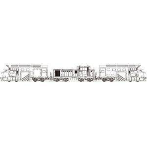 [鉄道模型]トラムウェイ (HO) TW-DD16-300LR 国鉄DD16-300 機関車(M付)+前頭車2両