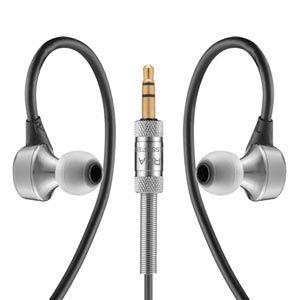 MA750 RHA ハイレゾ対応耳かけイヤホン(シルバー) RHA