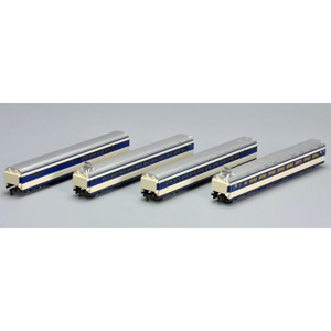 [鉄道模型]トミックス (Nゲージ) 92874 国鉄 0系東海道新幹線(大窓車・初期型) 4両増結Aセット