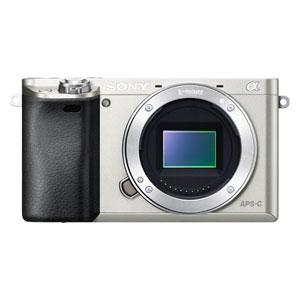 ILCE-6000-S ソニー デジタル一眼カメラ「α6000」ボディ(シルバー)