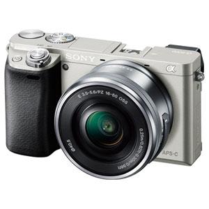 ILCE-6000L-S ソニー ミラーレス一眼カメラ「α6000」パワーズームレンズキット(シルバー) SONY
